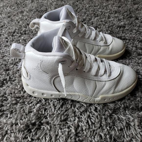 Jordan Other - All White Jordan Jumpman Sneakers